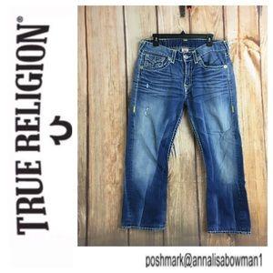 ☮️Men's True Religion Ricky Super T denim jean